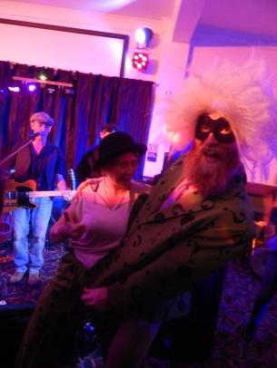 Costume thieves; Josh & Anna!